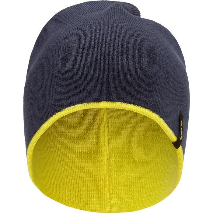 Omkeerbare nekwarmer skiën volwassenen geel/blauw