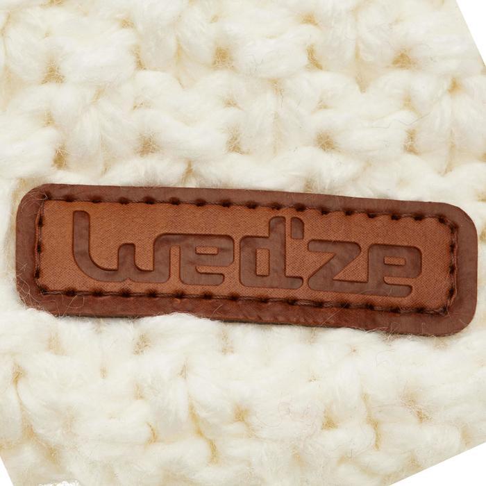 Ski hoofdband voor volwassenen Timeless wit