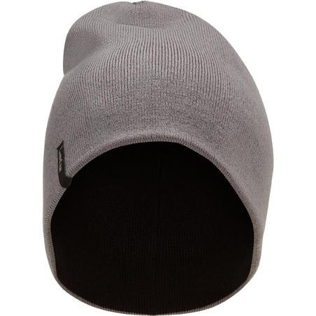 Pieaugušo slēpošanas abpusējs kakla sildītājs, melns/pelēks