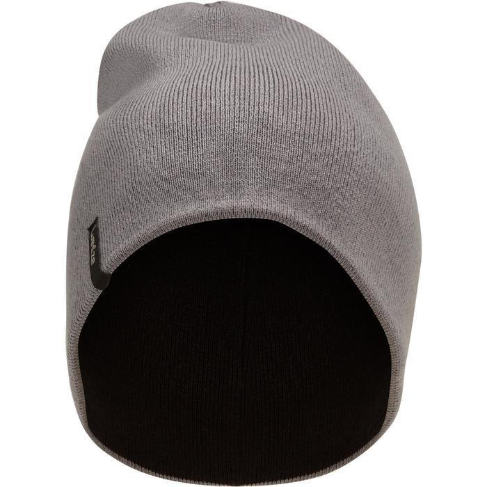 Schlauchschal wendbar Erwachsene schwarz/grau