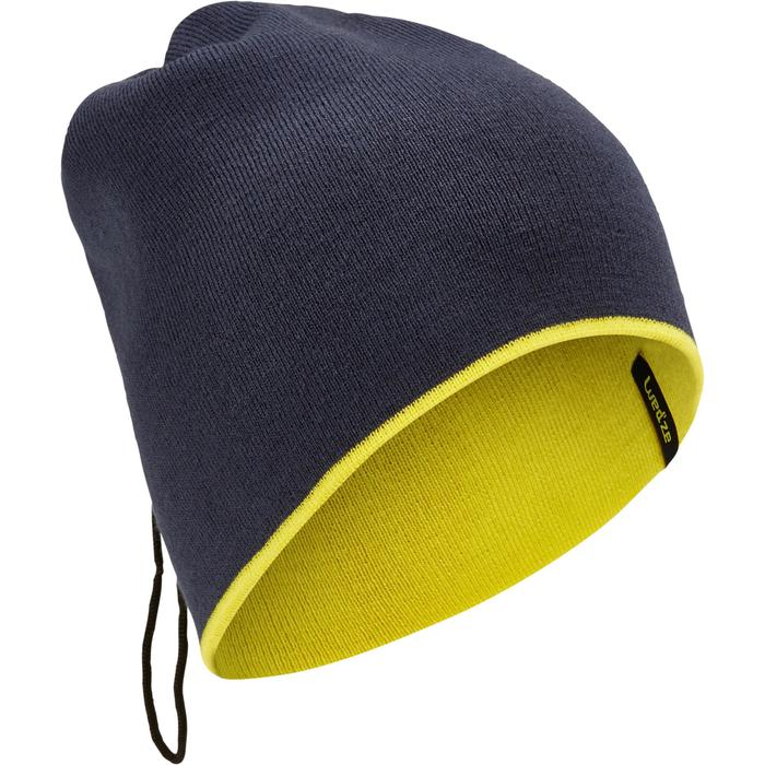 Schlauchtuch wendbar blau/gelb