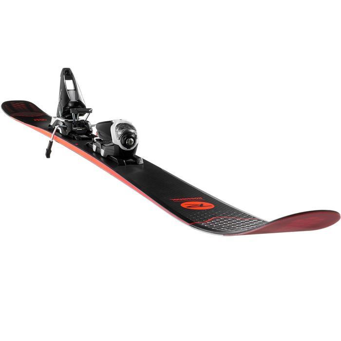 Freeride ski's Sky 7 rood