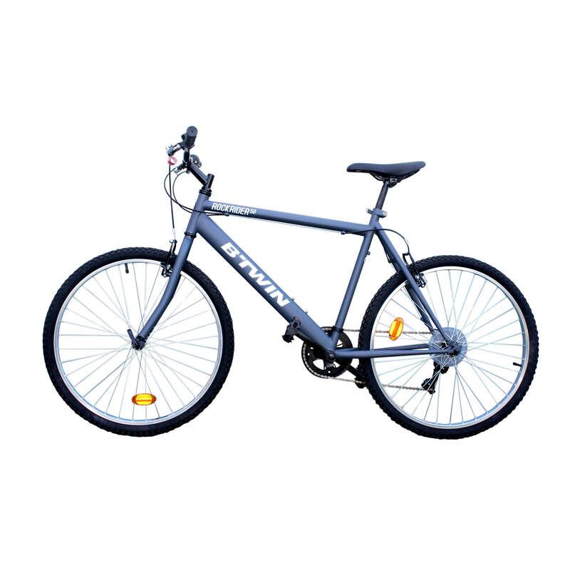 BICICLETĂ POLIVALENTĂ PENTRU PLIMBĂRI ÎN NATURĂ Ciclism - Bicicletă Rockrider 26