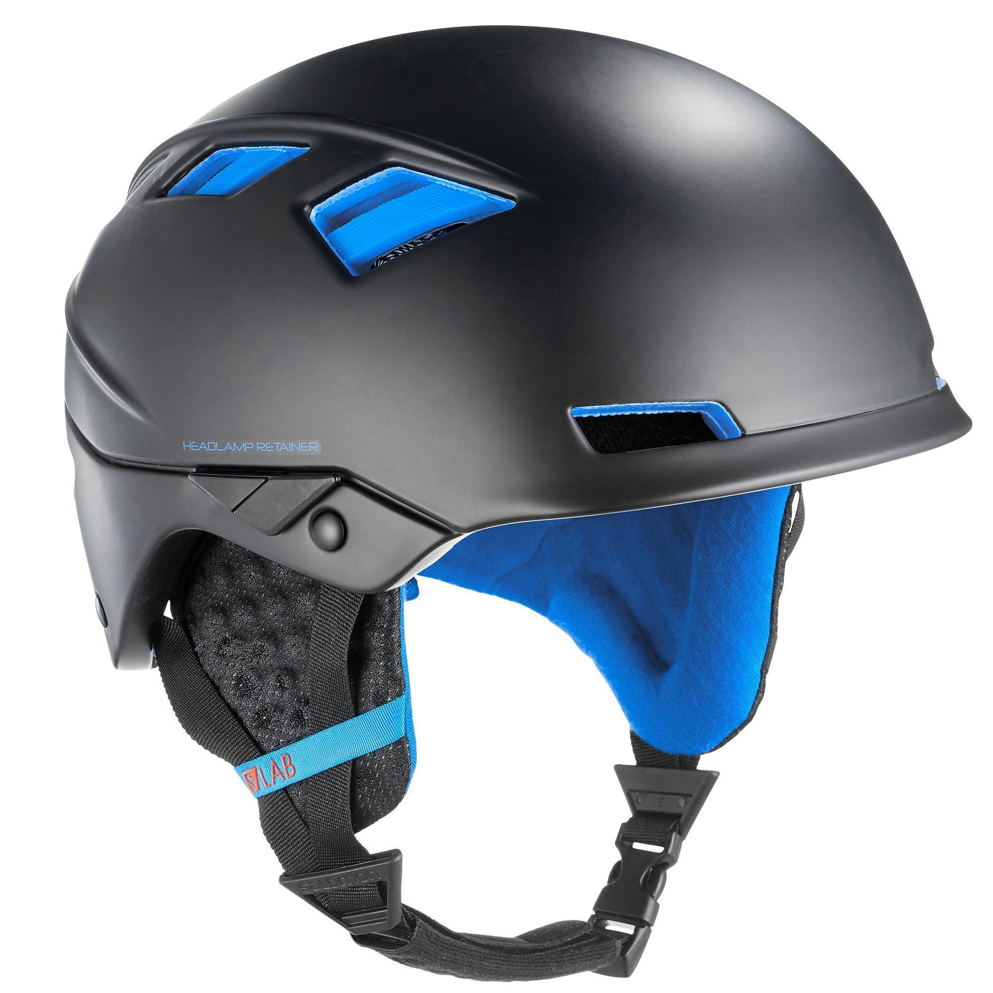 Damen,Herren Skitourenhelm Salomon MTN Lab Erwachsene schwarz   00889645320984