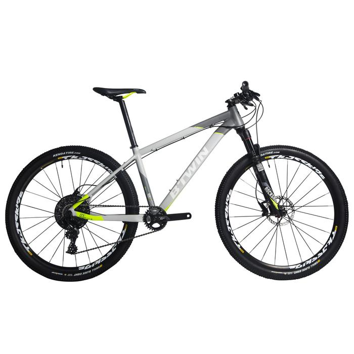 "Rockrider 920 27.5"" Mountain Bike - Grey/Lime - 1234276"