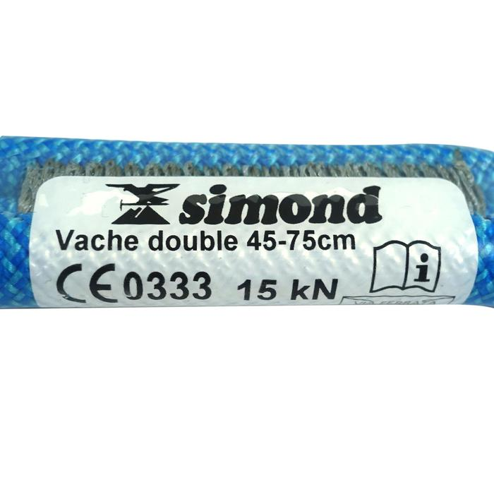 Cabo Anclaje Doble Escalada Alpinismo SImond 75 CM