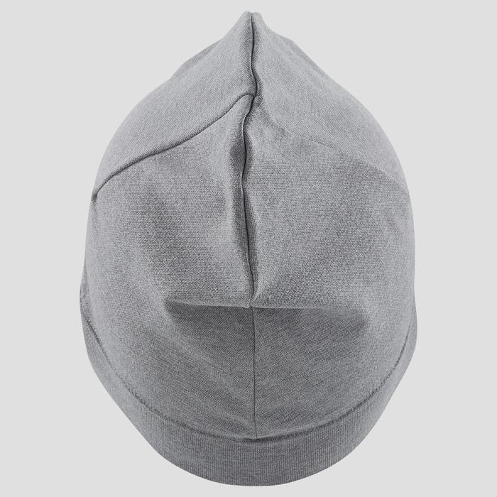 跑步帽灰色