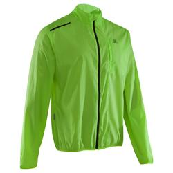 Lauf-Windjacke Run Wind Herren neongelb