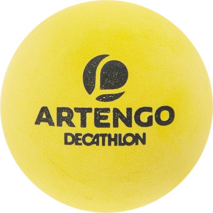 Tri pack balle front tennis jaune ftb 860