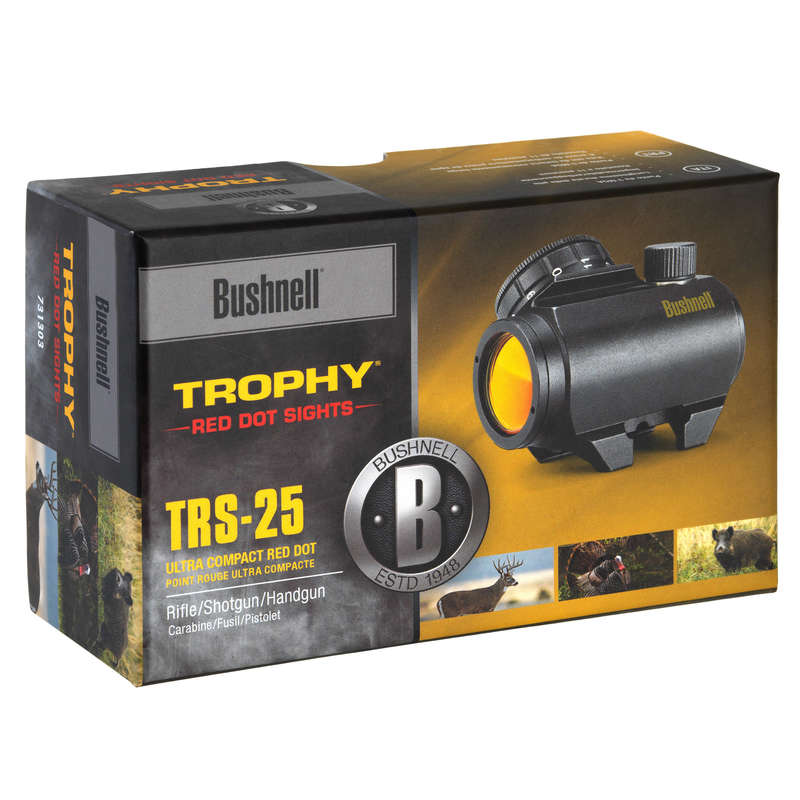 RIFFLE SCOPE/RED DOT Shooting and Hunting - Bushnell TRS25 Red Dot BUSHNELL - Hunting and Shooting Accessories