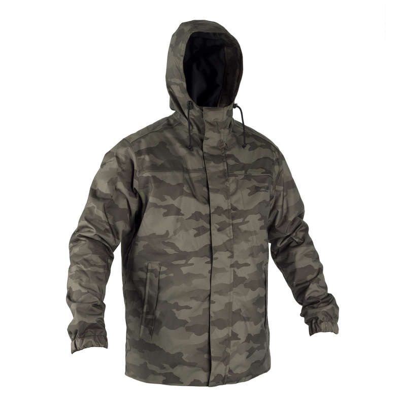 WARM CLOTHING Clothing - Sibir 100 hunting Jacket - Camouflage SOLOGNAC - Tops