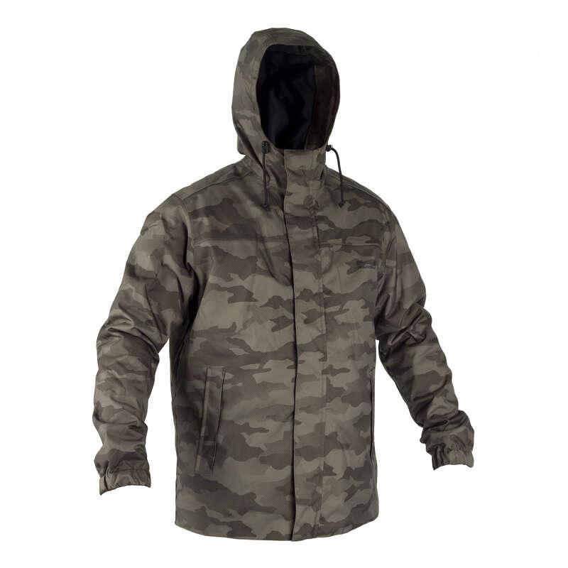 Одежда на морозную погоду Охота - ТЕПЛАЯ КУРТКА 100 CAMO-HT SOLOGNAC - Камуфляж