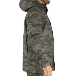 VESTE CHASSE CHAUDE 100 CAMOUFLAGE HALFTONE