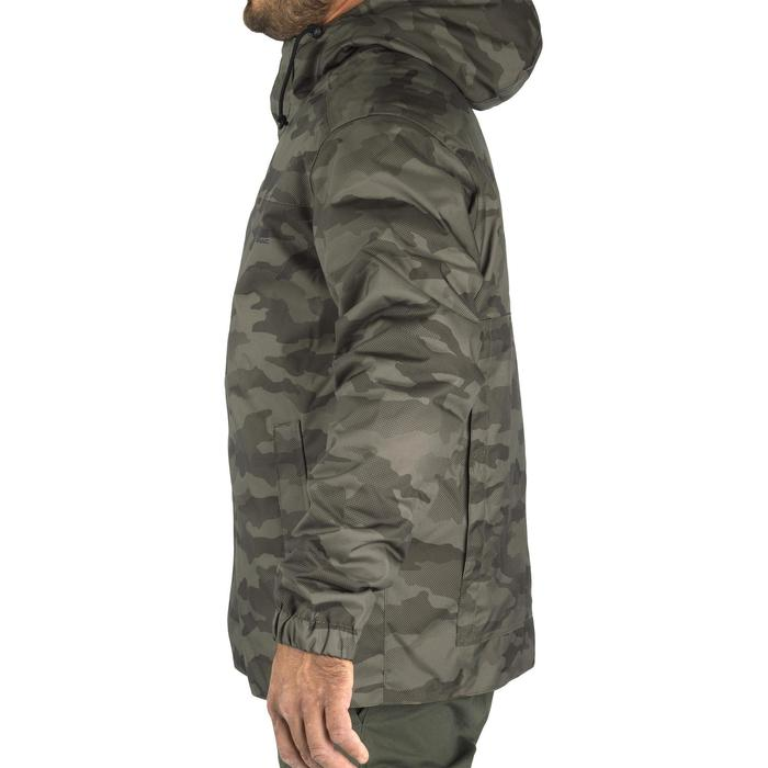 Warme camouflagejas voor de jacht 100 halftone