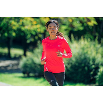 MAILLOT MANCHES LONGUES JOGGING FEMME RUN SUN PROTECT - 1234656