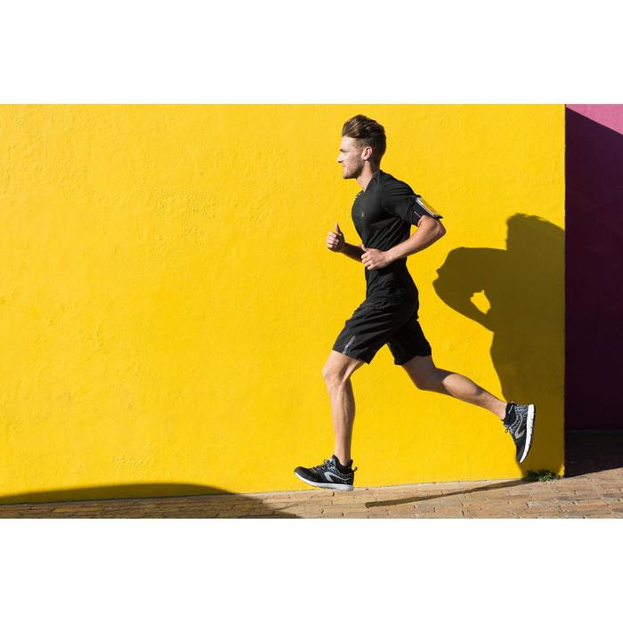 Armband Smartphone Laufen neongelb/meliert
