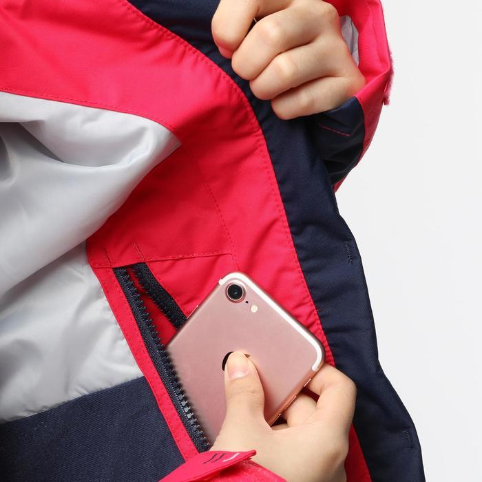100 Women's Sailing Jacket - Pink / Dark Blue