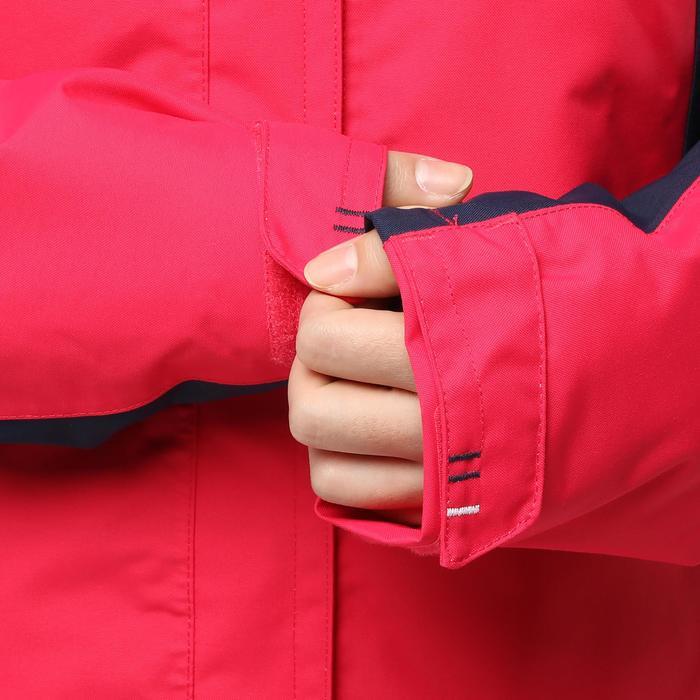 100 女士航海運動外套-粉紅/深藍