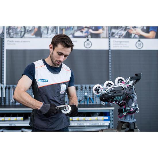 Changement de 4 roues et/ou 8 roulements pour rollers, quads ou skates - 1235155