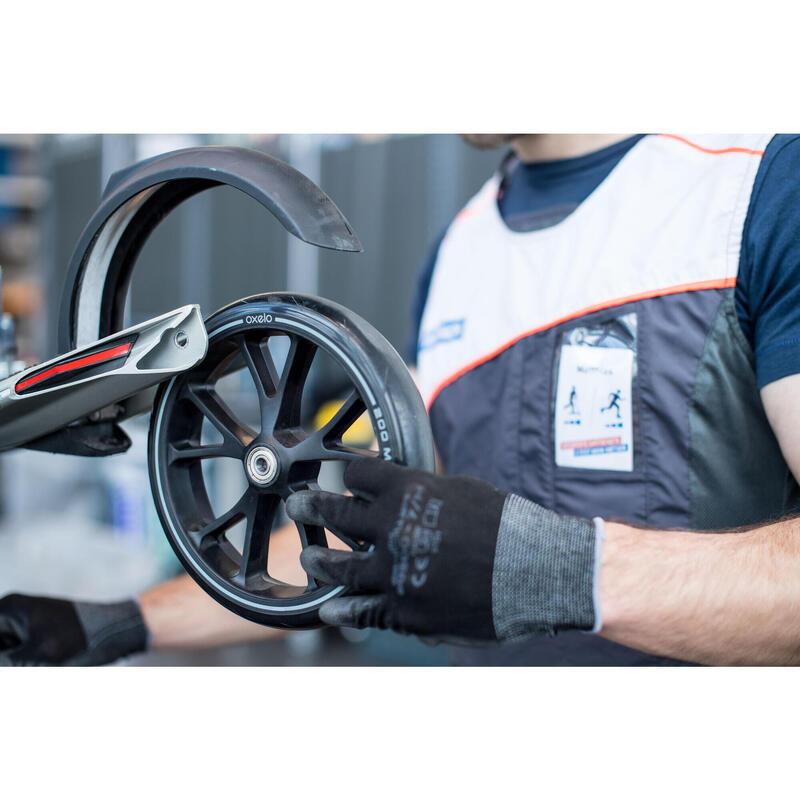 Changement de roue et roulements pour trottinette