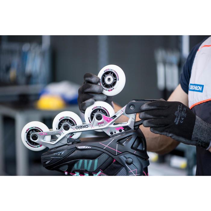 Substituição de 4 rodas e/ou 8 rolamentos em patins, quads ou skates