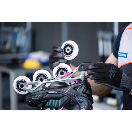 Changement de 4 roues et/ou 8 roulements pour rollers, quads ou skates - 1235161