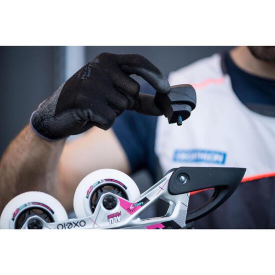 Vervangen van remblokjes van skeelers/rolschaatsen, remplaatjes of remset