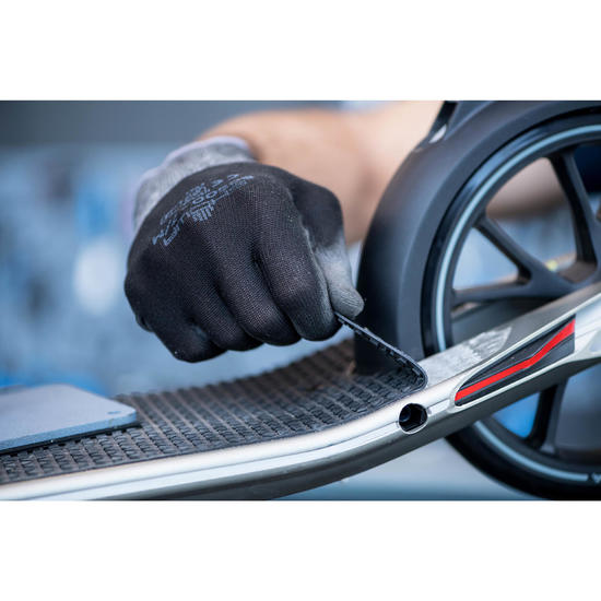 Changement de grip de trottinette
