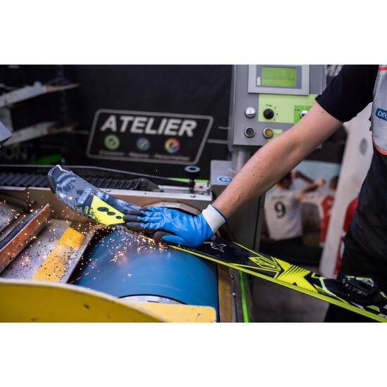 Basisonderhoud ski's: ontwaxen, schuren, slijpen, waxen