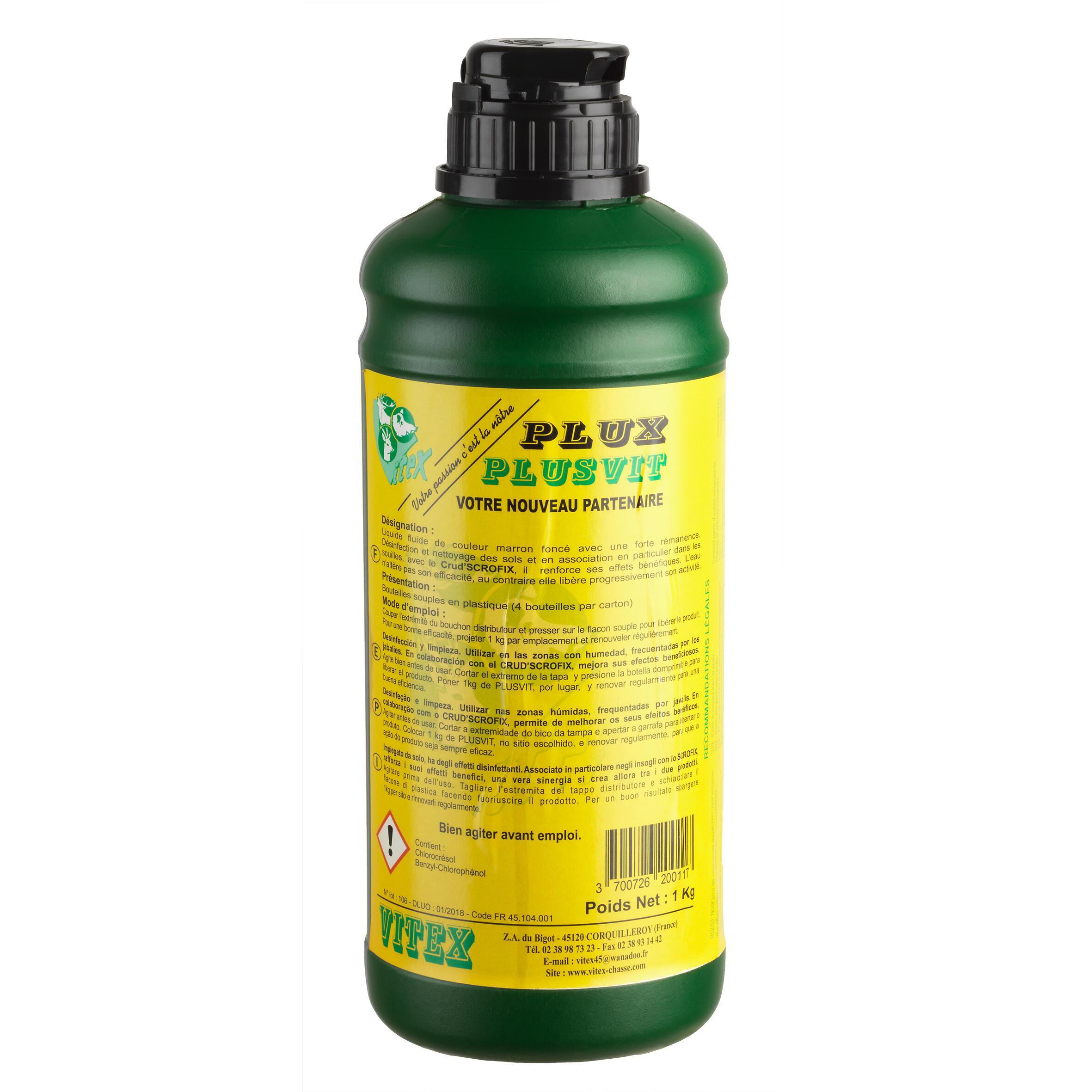 Vitex Krachtig lokmiddel voor everzwijnen Flux Pluvit 1 kg