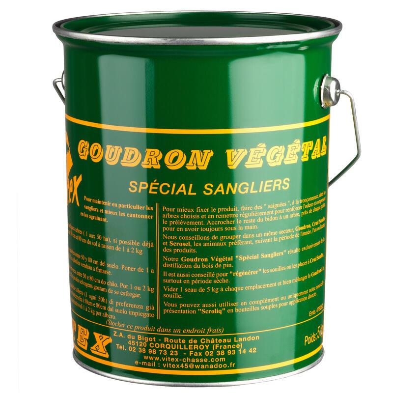 Goudron seau de 5 KG spécial sangliers