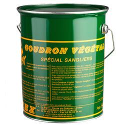 Alcatrão Vegetal em Balde Caça 5 Kg Especial para Javalis