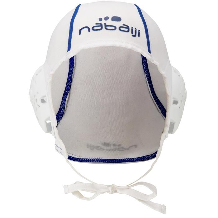 Wasserball-Kappe Water Polo 500 Erwachsene weiß
