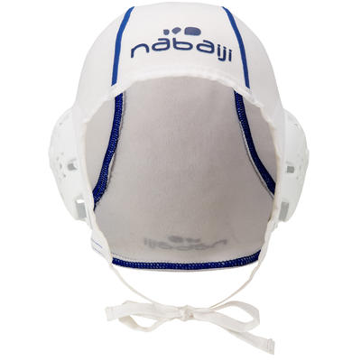 White adult 500 water polo cap