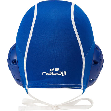 Blue 500 adult water polo cap
