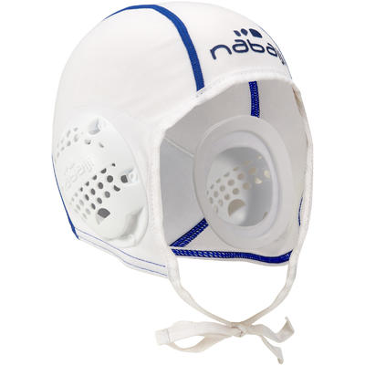 Gorro waterpolo 500 adulto blanco