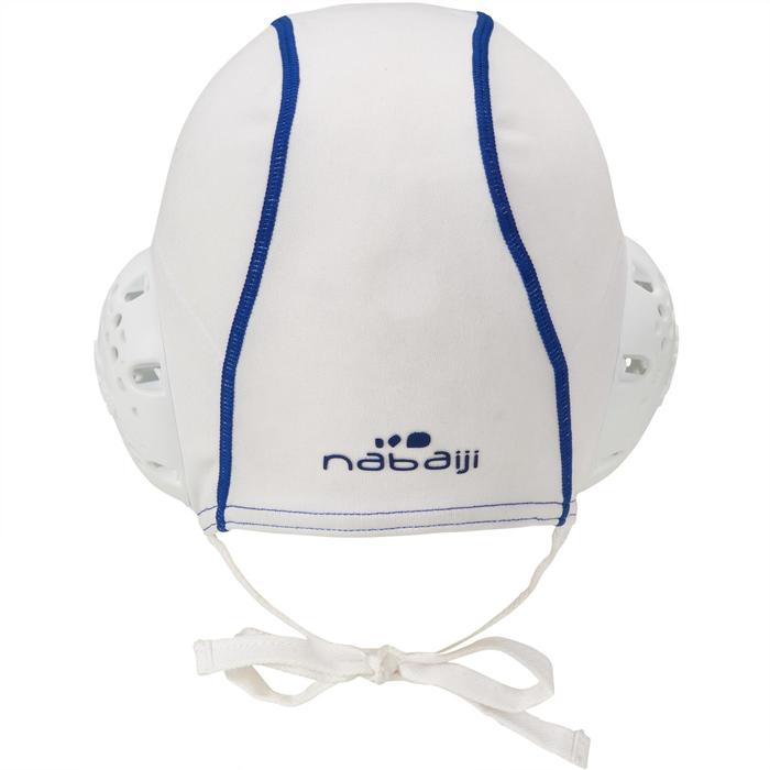 Bonnet water polo 500 adulte blanc