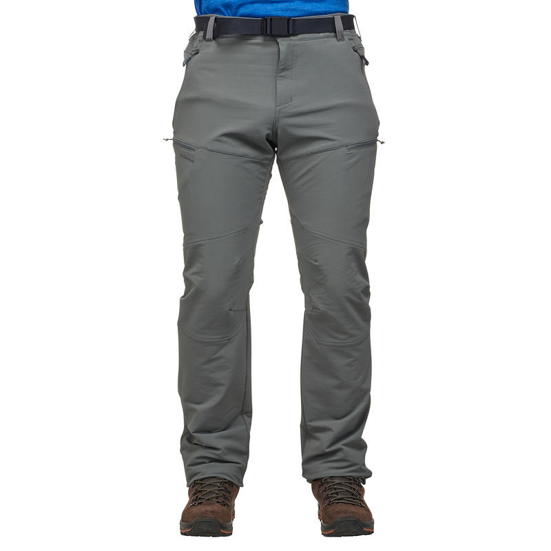 Pantalón de senderismo por la nieve para hombre SH500 cálido gris
