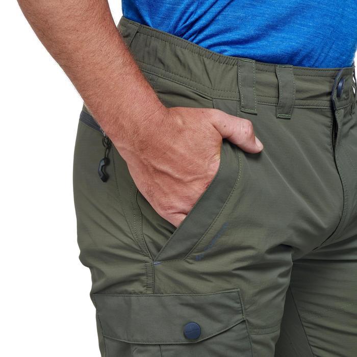 Pantalon de randonnée neige homme SH500 chaud khaki