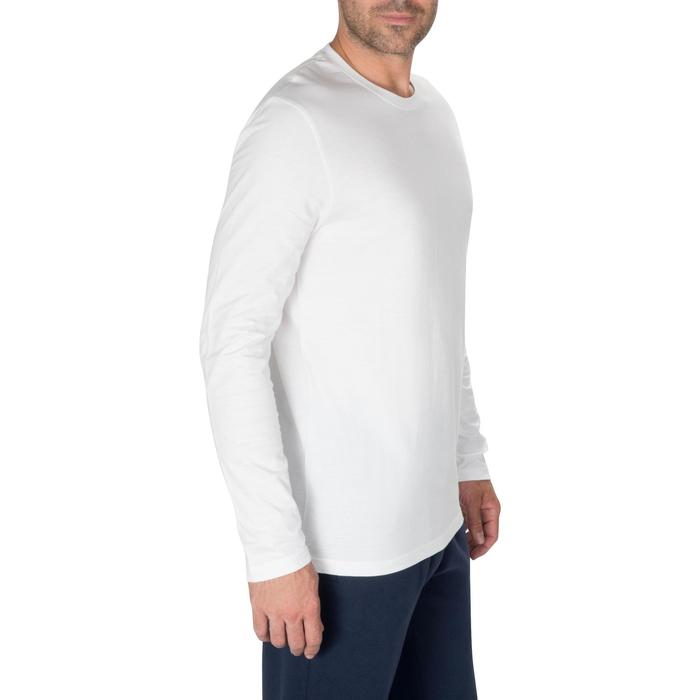 Men's Long-Sleeved T-Shirt 100 - White