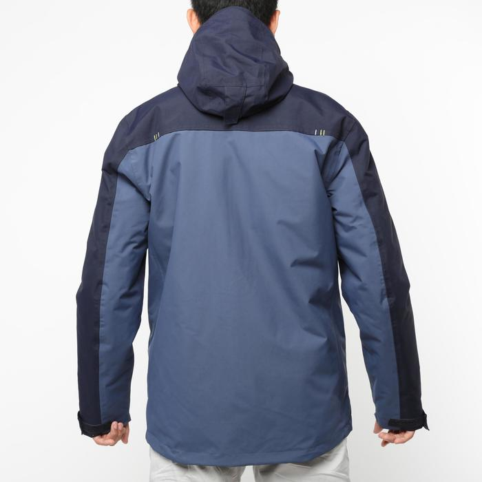男款保暖航海外套100-深藍色/藍色