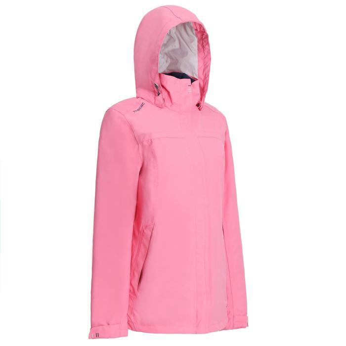 100 Women's Sailing Jacket - Pink - 1236144