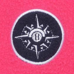 兒童款航海刷毛100-粉紅色