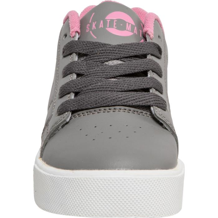 CHAUSSURES À ROULETTES SKATE-MATE GRIS ROSE - 1236267