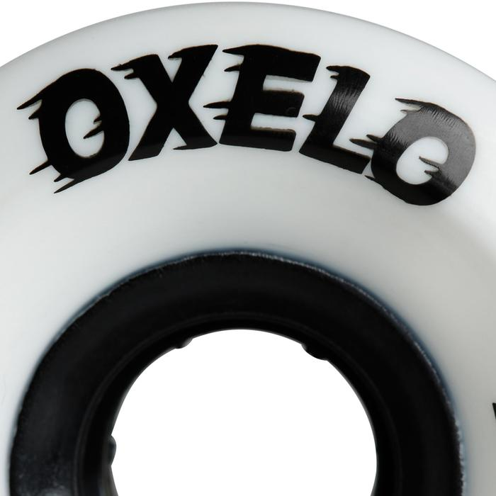 ROUES LONGBOARD 65mm 80a BLANCHE