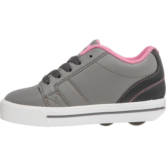 CHAUSSURES À ROULETTES SKATE-MATE GRIS ROSE - 1236283