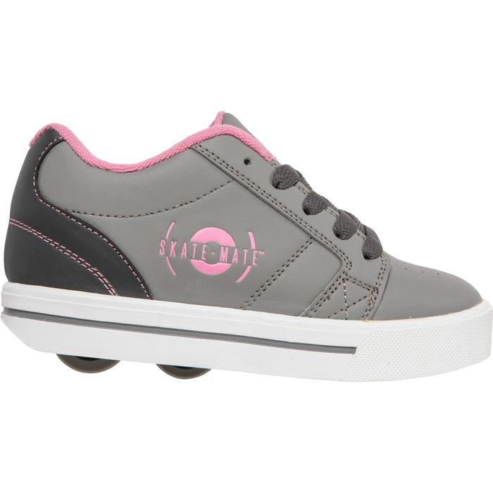 CHAUSSURES À ROULETTES SKATE-MATE GRIS ROSE - 1236285