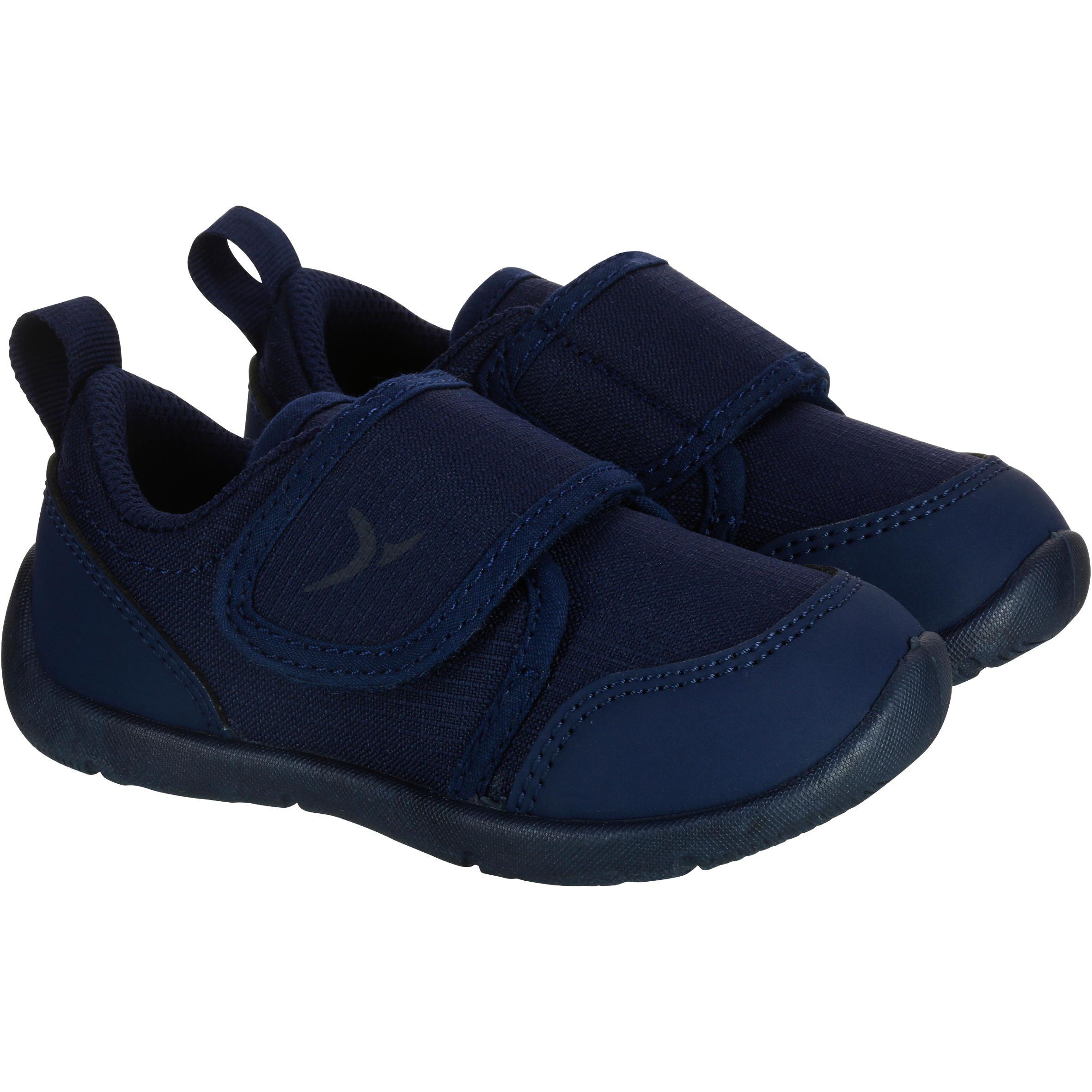 Baby Gym Shoe 100- Navy Blue
