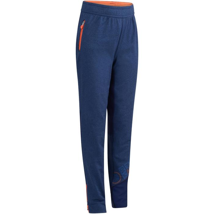 Pantalon 980 chaud slim Gym garçon poches imprimé marine - 1236439