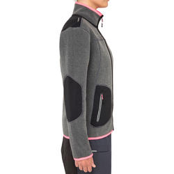 Cruise Women's Sailing Fleece - Grey / Pink